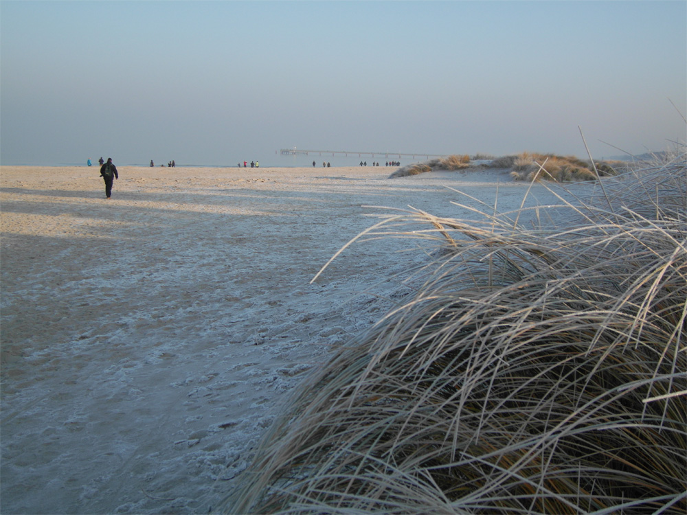 prerow ostsee im winter